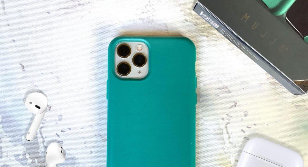 funda para iPhone 11 Pro en piel de Mujjo