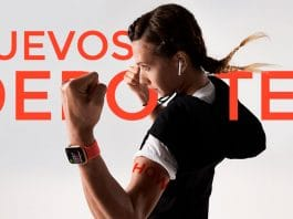 seleccionar cualquier deporte en la App entreno del Apple Watch