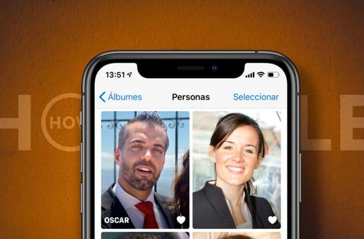 Album personas: Cómo añadir caras a las fotos desde el iPhone o el iPad