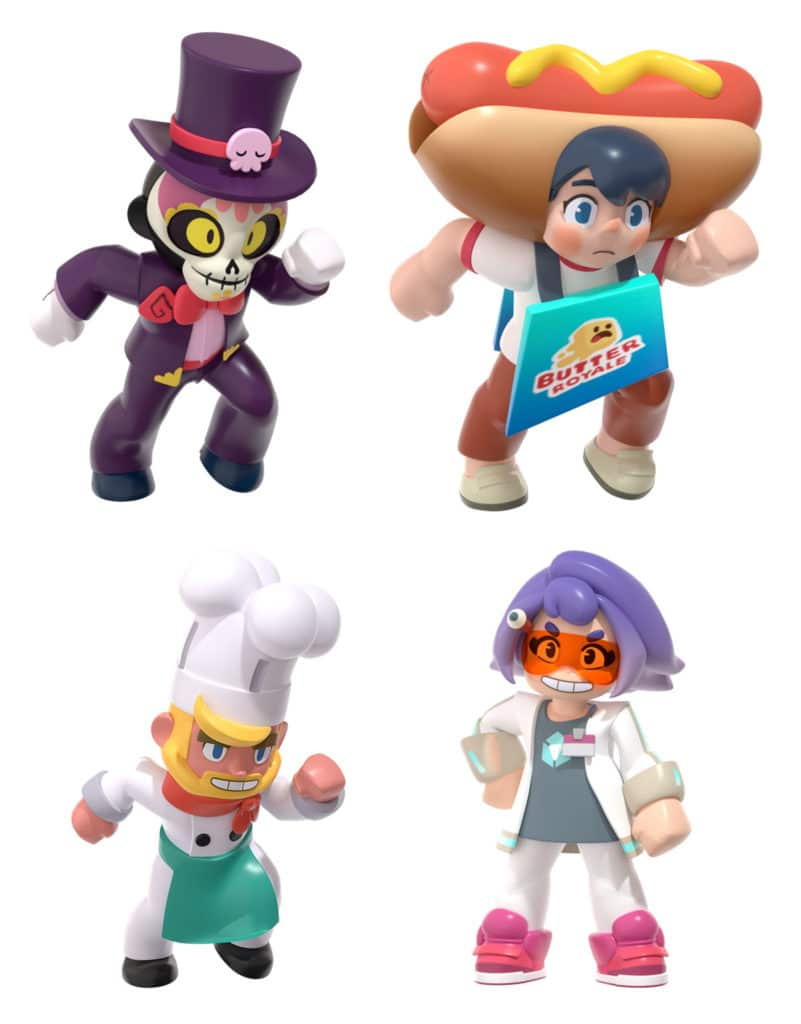 personajes Butter ROYALE
