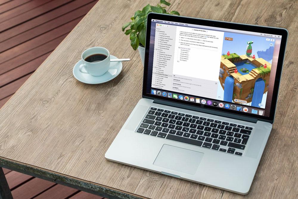 Aprende a programar con swift playgrounds para Mac