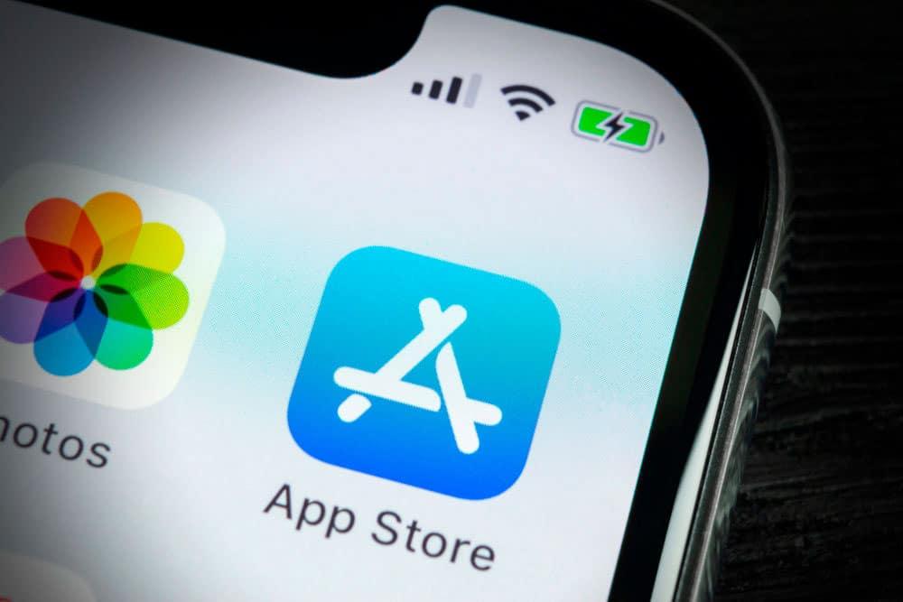 recuperar la aplicación del App Store