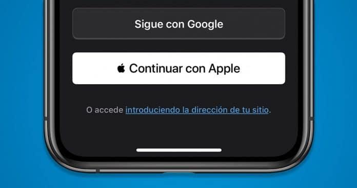 Gestionar iniciar sesión con Apple