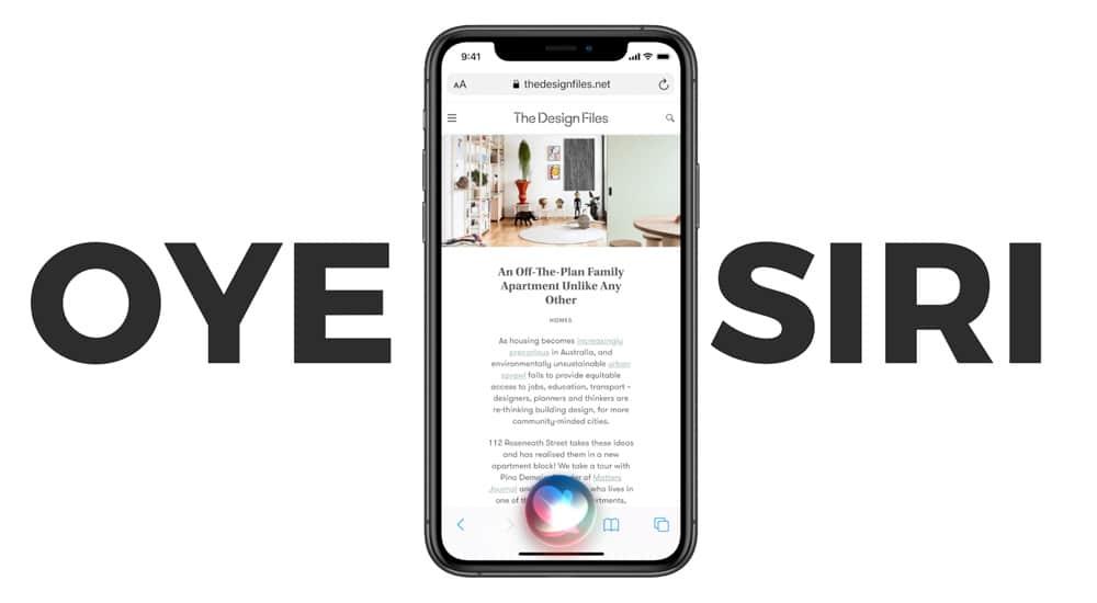 Siri en iOS 14