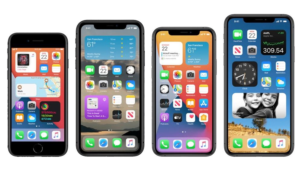 Widgets en el HomeScreen con iOS 14