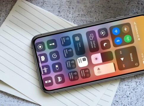 atajos de cámara del centro de control en iPhone y iPad