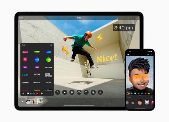 Clips de Apple se actualiza a la version 3
