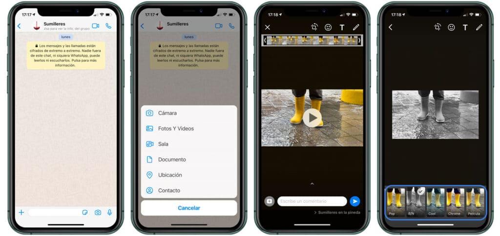 Cómo añadir filtros Whatsapp a la fotos - Trucos WhatsApp