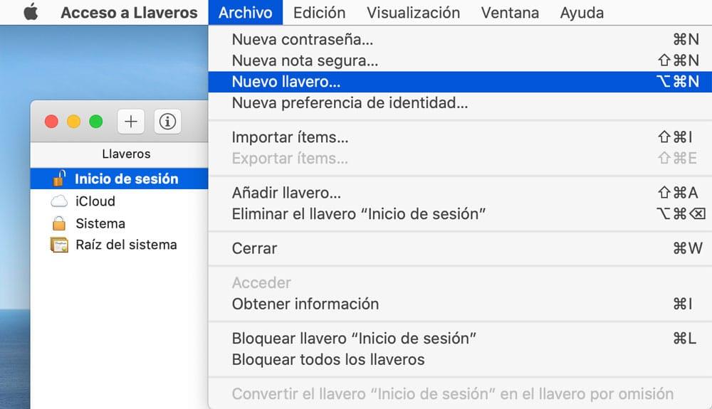 Nuevo llavero de iCloud para proteger contraseñas Mac