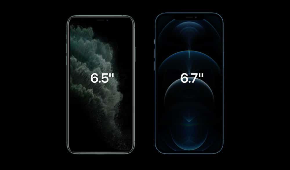 Tamaño de pantallas del iPhone 12 Pro precio y iPhone 12 Pro Max Precio