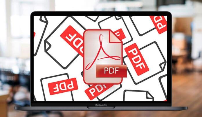 Cómo combinar varios archivos en un PDF desde el Mac