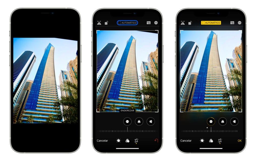 Cómo corregir la perspectiva de nuestras fotos en iPhone y iPad