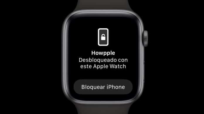 Cómo desbloquear el iPhone con el Apple Watch