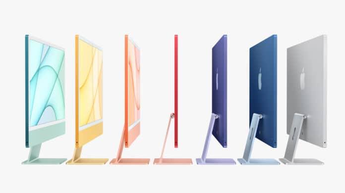 Colores nuevo iMac 2021