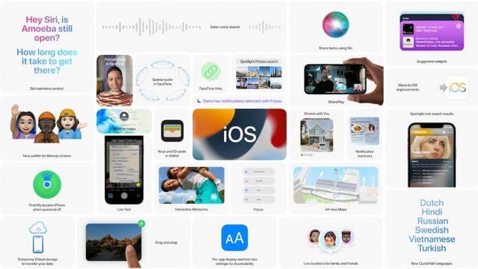 Novedades iOS 15