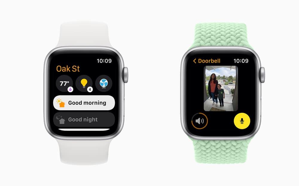 Novedades watchOS 8 en la App Casa