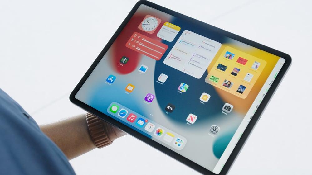 Widgets y Biblioteca de Apps de iPadOS 15