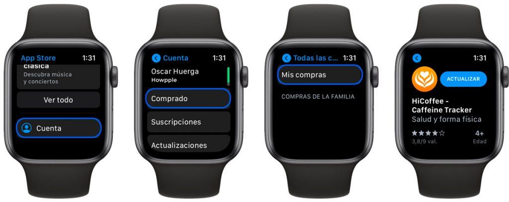 Aprende cómo forzar la actualización de una aplicación en Apple Watch