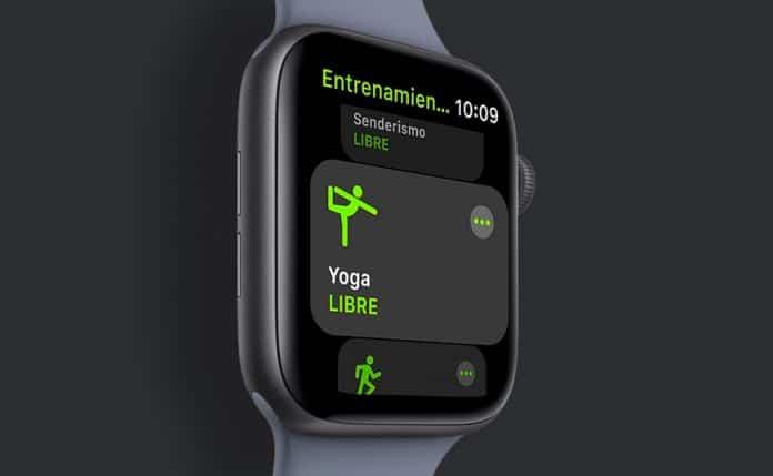 Cómo eliminar tipos entrenamiento del Apple Watch