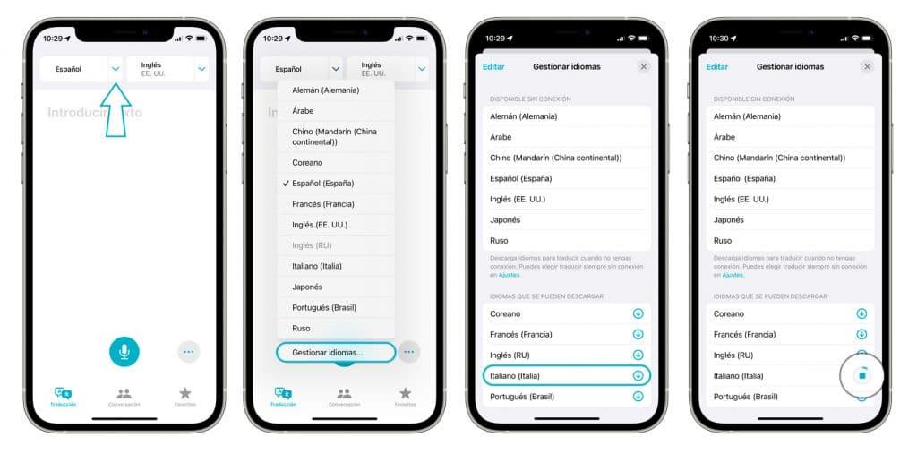 Traductor iPhone - App traducir apple