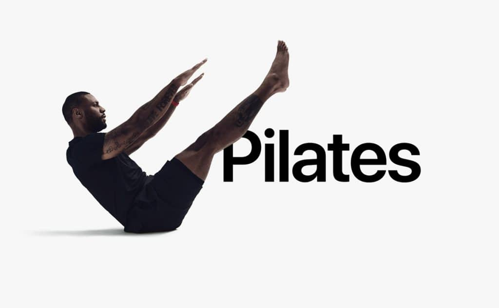 entrenar pilates fitness+ de apple
