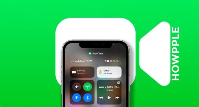 efectos de audio y video en FaceTime